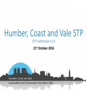 Humber Coast Transformation plan 2016