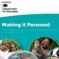 Front cover for Making it Personal document