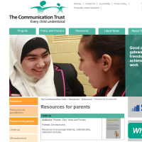 A preview of the communication trust website