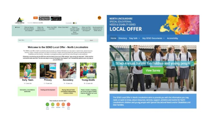 Read about the development of the Local Offer site