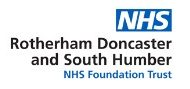 NHS Rotherham, Doncaster and South Humber logo