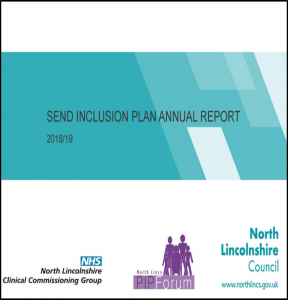 SEND Inclusion Plan Annual Report cover