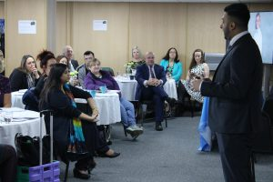 Delegates and parents at SEND Conference