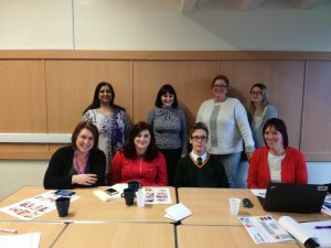 Professionals, parents and young people working together as a tean