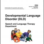 Cover from the NHS document Development Language Disorder
