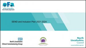 SEND and Inclusion plan cover